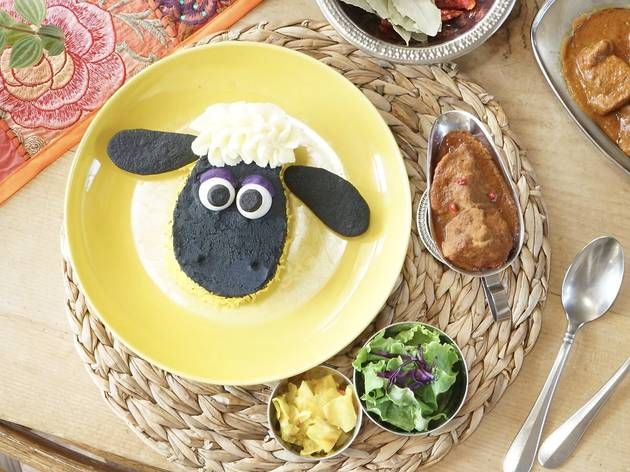 Shaun the Sheep Spice Cafe at Sunday Brunch