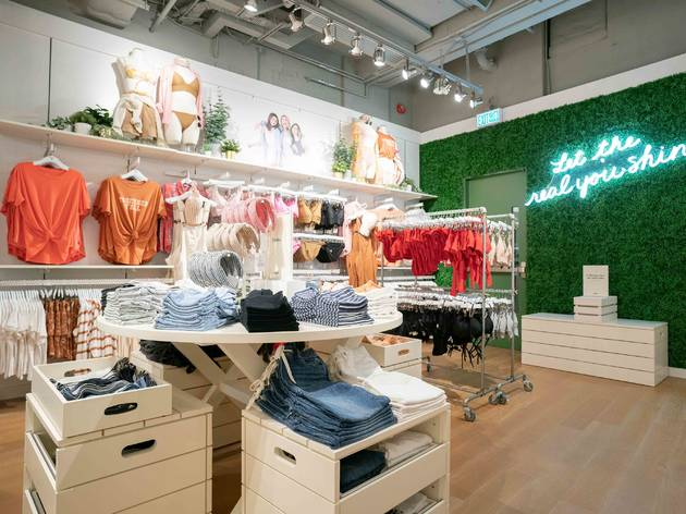 Aerie by American Eagle opens three-storey flagship store in Hong Kong