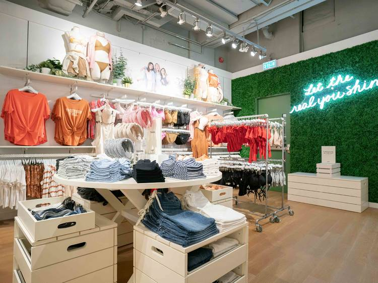 American Eagle Outfitters opens three-storey flagship store in Hong Kong