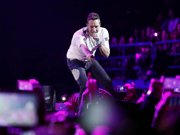 Coldplay is playing a free special concert in Long Island City tomorrow