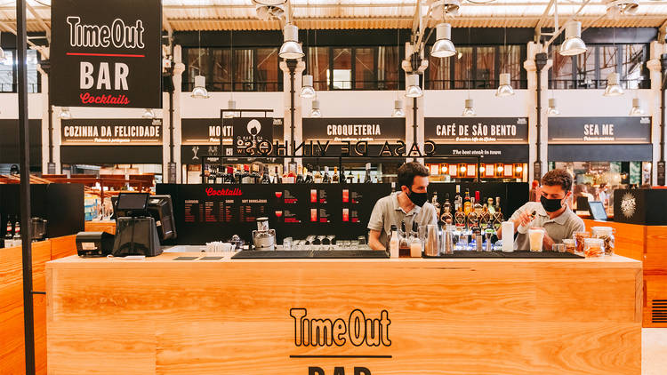 Time Out Market, TimeOut Bar, Cocktails