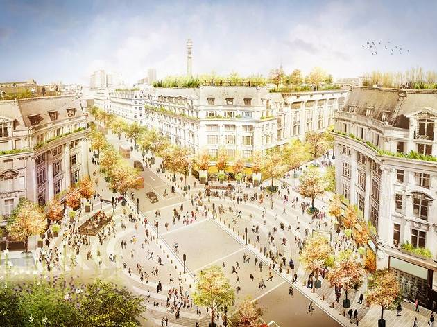Plans for Oxford Street's pedestrianisation revealed