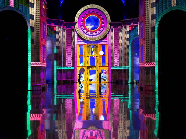 This trippy, immersive show is transforming this gorgeous NYC landmark again