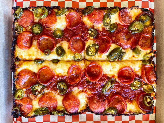 Dough Daddy pizza