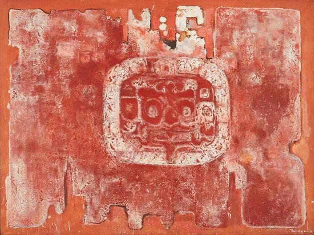 利根山光人≪太陽の神殿≫1966年、東京都国立近代美術館蔵