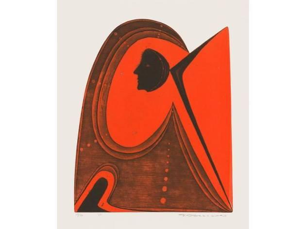 深沢幸雄≪アステカの旅≫1969年、市原湖畔美術館蔵