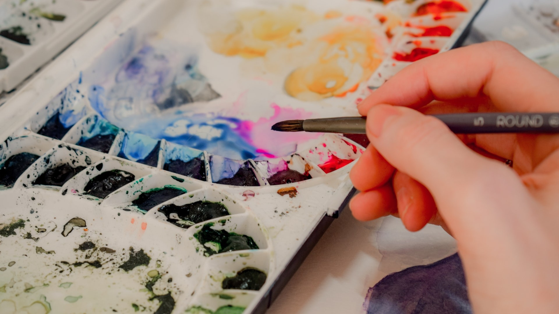 Painting palette