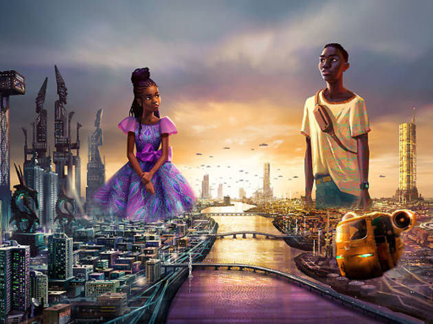 Disney will launch two animated Afrofuturist series