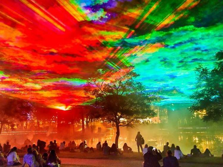 See the Northern Lights at Greenwich + Docklands International Festival