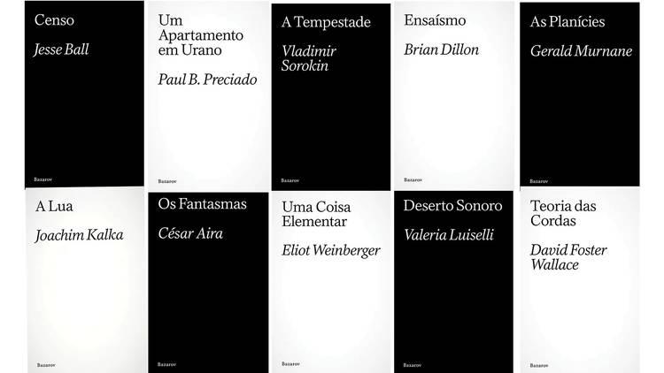 Livros, Editora Independente, Bazarov