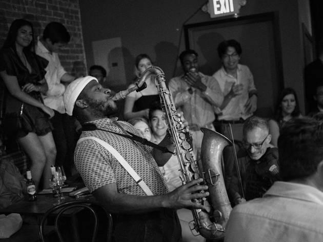 This new underground jazz speakeasy is the epitome of cool
