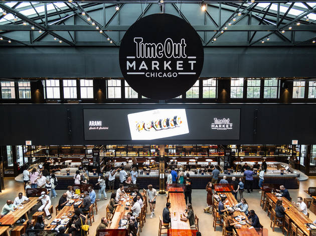 Time Out Market Chicago overhead