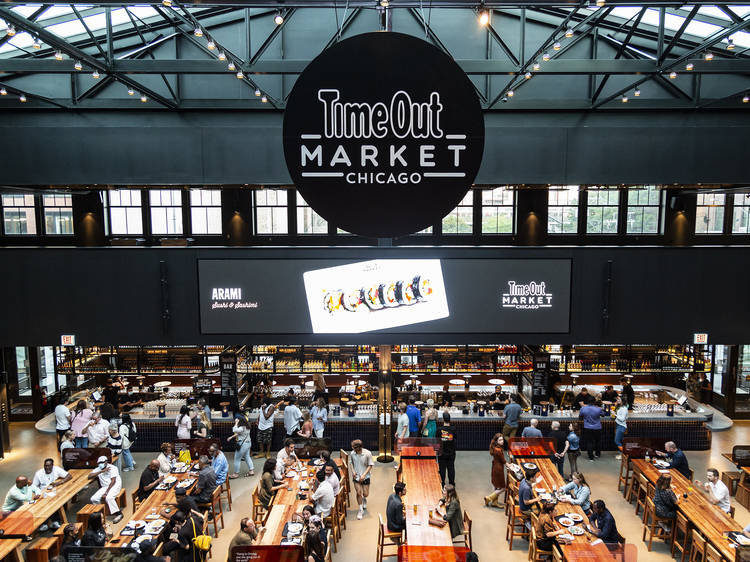 Time Out Market Chicago Is Now Open