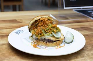 Mini Mott burger