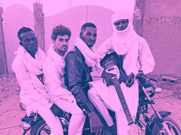 Mdou Moctar presentó su disco, Afrique Victime