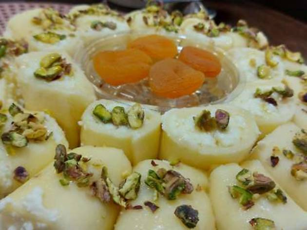 Trio Pasta, Sweets and Nuts