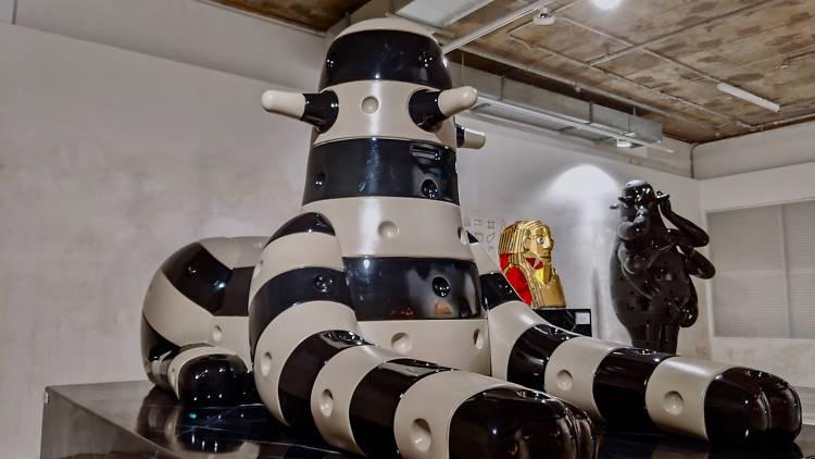 jps gallery museum belowground
