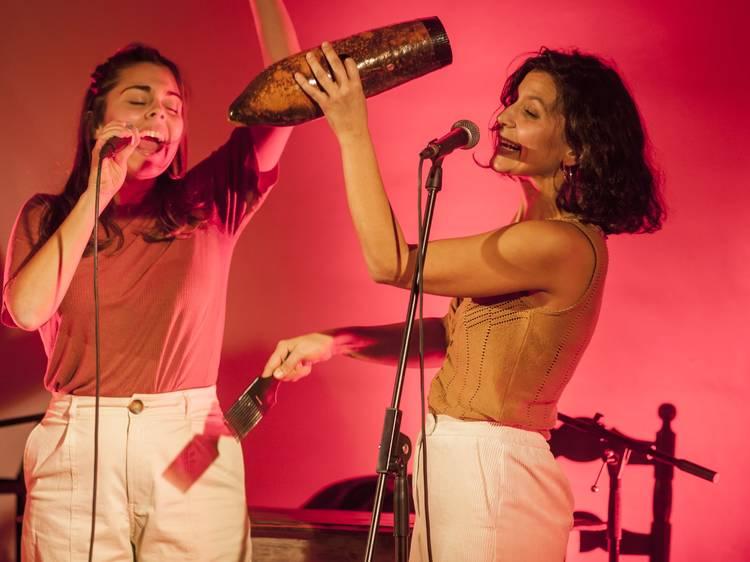 Paula Grande y Anna Ferrer