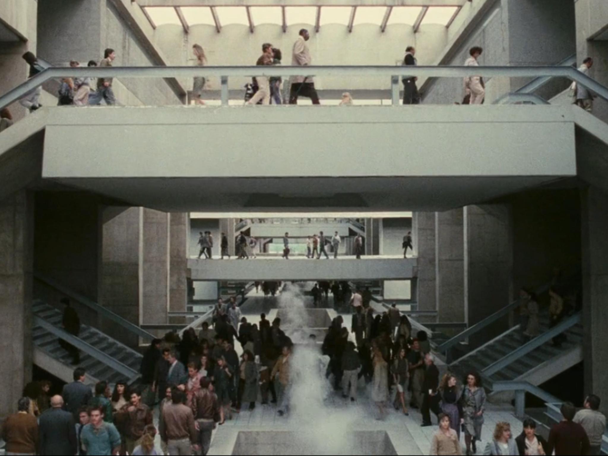 El vengador del futuro, película filmada en la Glorieta de Insurgentes