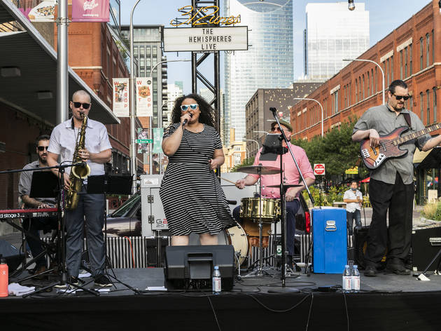 Goose Island is presenting free concerts at Time Out Market