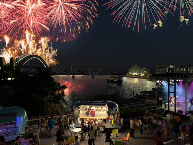 The Cahill Expressway is being transformed into a weeklong NYE party this summer
