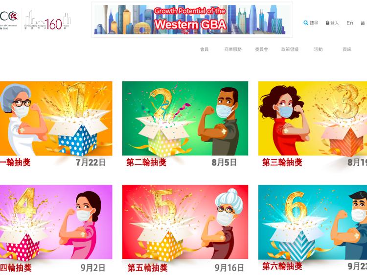 總商會「香港做得到!幸運大抽獎」七輪送出總值逾3,000萬禮品