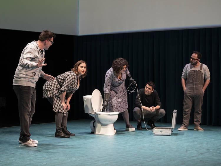'De què parlem mentre no parlem de tota aquesta merda' en el Teatre Poliorama