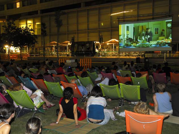 Cinema a la fresca a L'Illa