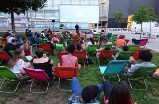 Cinema a la fresca a L'illa Diagonal