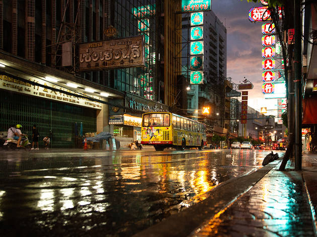 In pictures: A quiet evening in Chinatown on the first day of eased restrictions