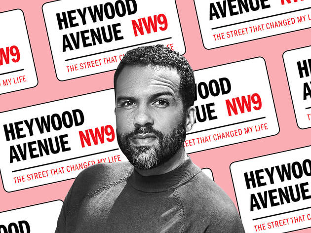 The Colindale street that changed an actor's life