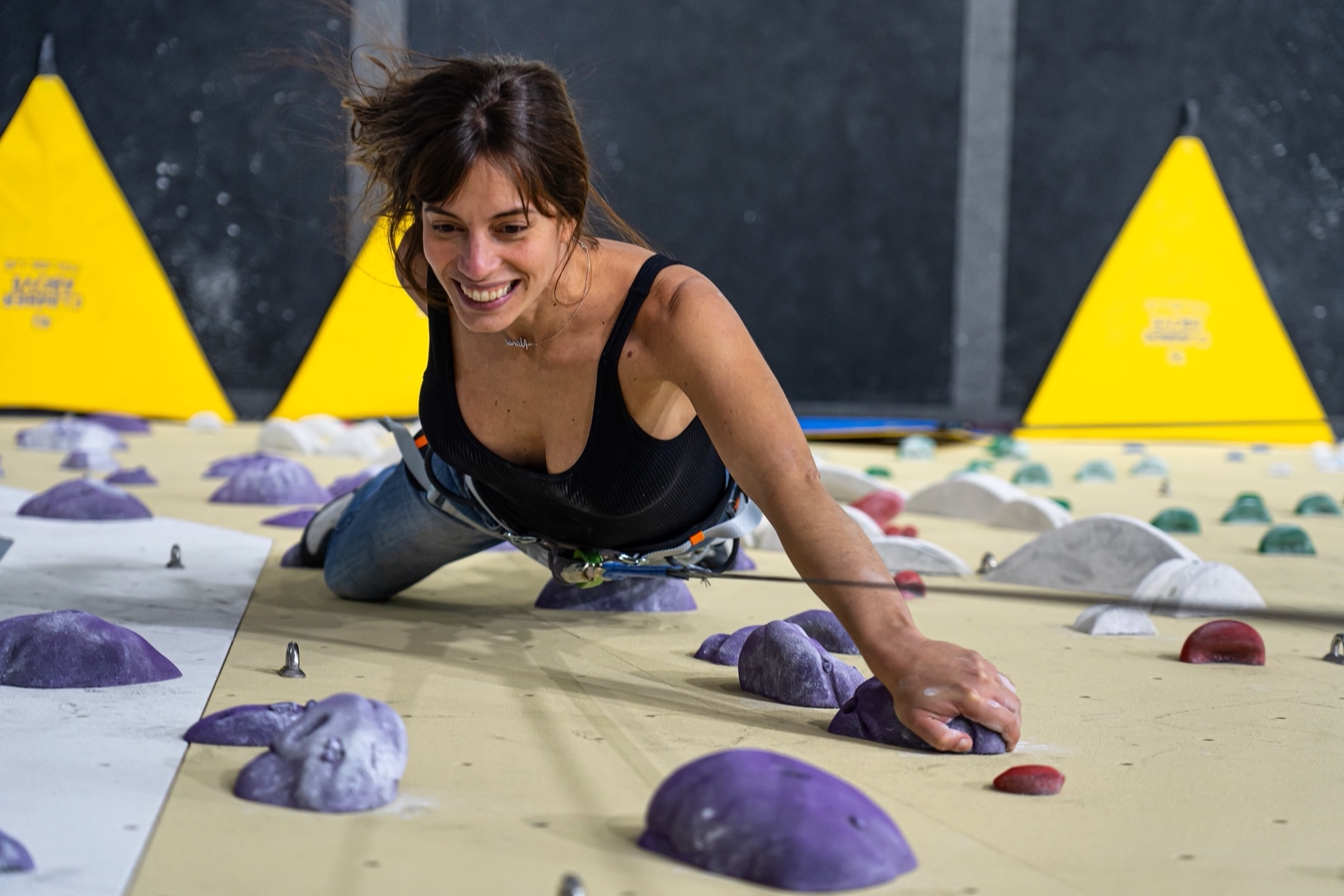 Sharma Climbing Madrid