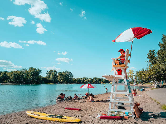 The most beautiful beaches in Montreal