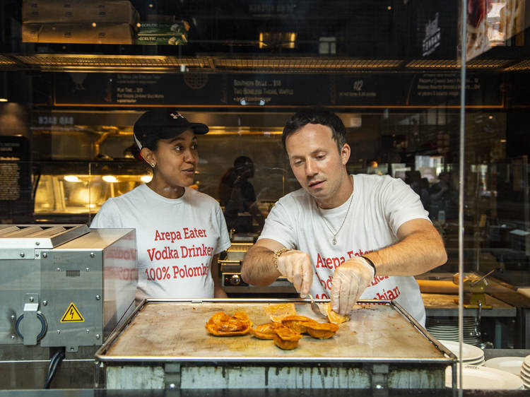 This Chicago couple created a fusion of Polish and Colombian food