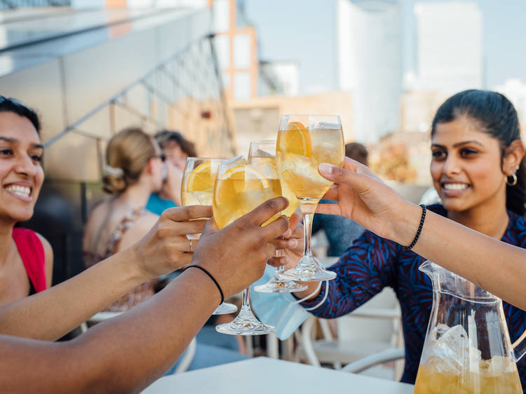 We're raising a glass to bars around the world this month
