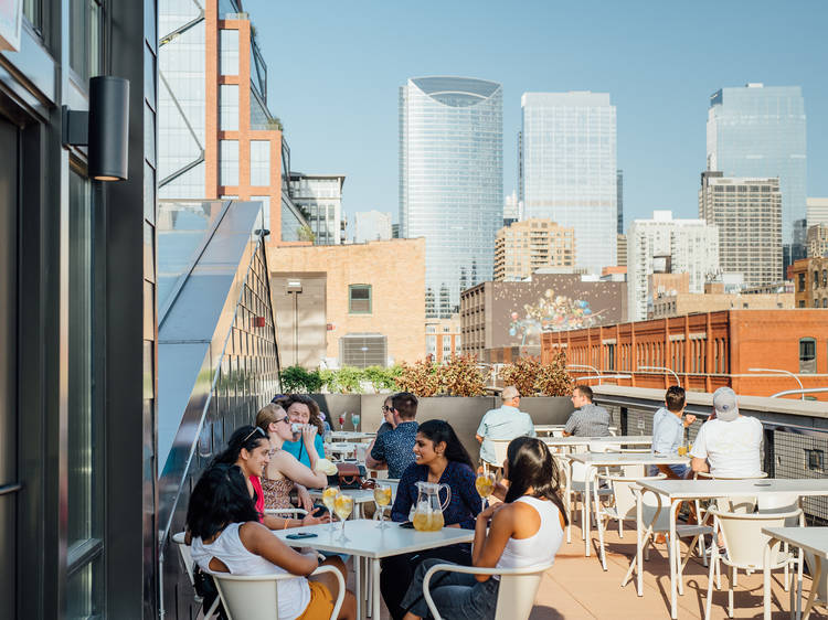 Tony's Rooftop Bar at Time Out Market Chicago