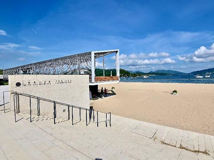 龍尾泳灘:首個政府興建人工泳灘