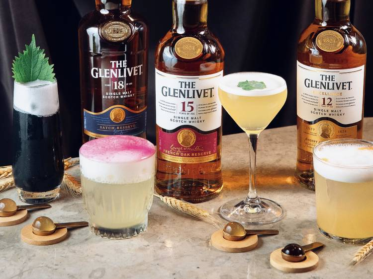 The Glenlivet Cocktail Capsule Collection
