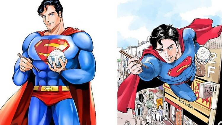 Superman vs Food