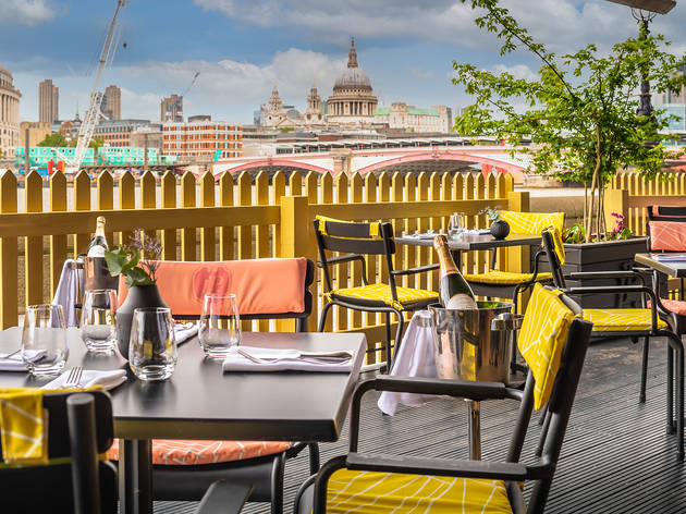 sea containers, terrace (Sea containers )