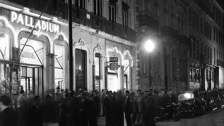 Pátios das Antigas, Lisboa Antiga, Palladium Café, Avenida da Liberdade