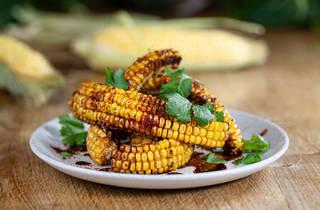 Duck & Waffle, corn ribs