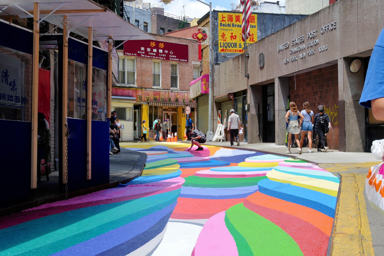 Doyers Street Mural