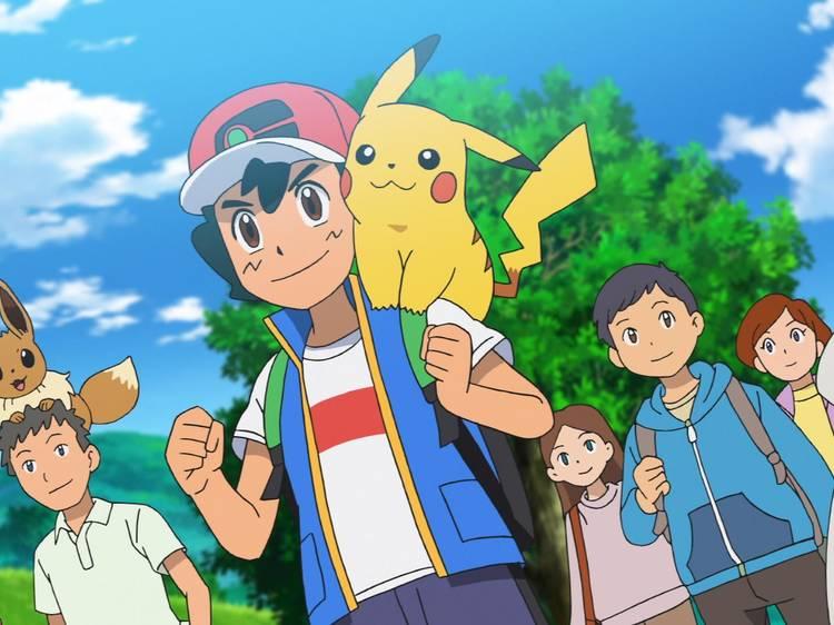 Viajes Pokémon: Partes 1 a la 4
