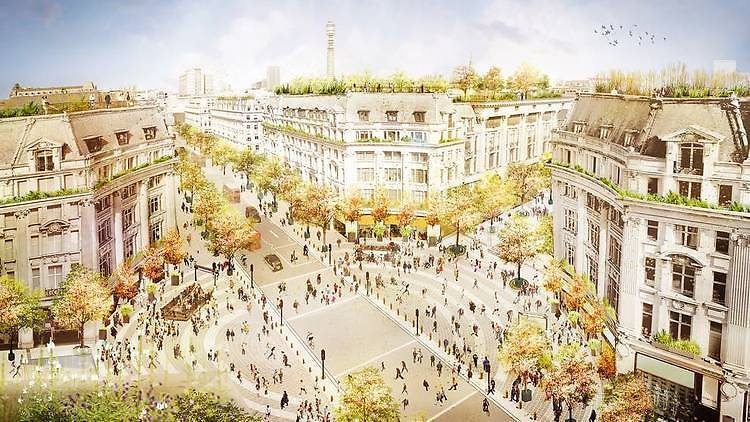 Plans for new entrances to Oxford Circus station