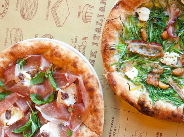 Two flash new pizza places are opening in London