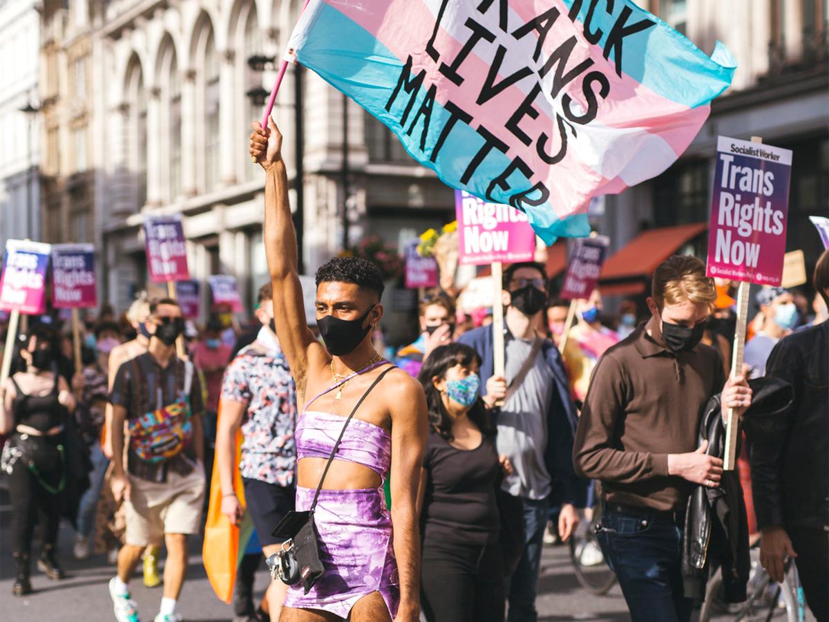 March in London Trans+ Pride