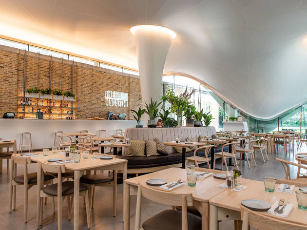 The Serpentine Gallery has a new, flash eatery