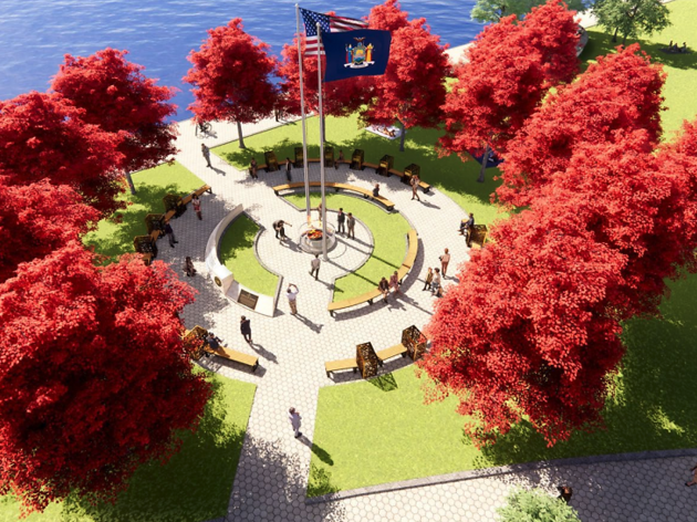 A new Essential Workers Monument and park is coming to NYC this fall