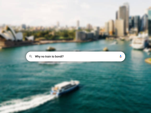 Sydney city with google search